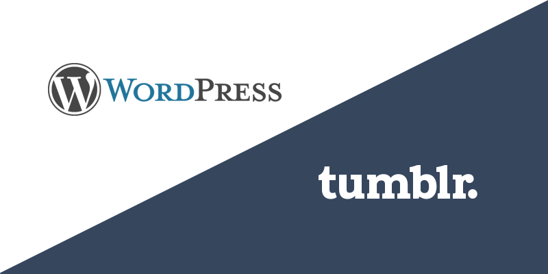 WordPress vs Tumblr