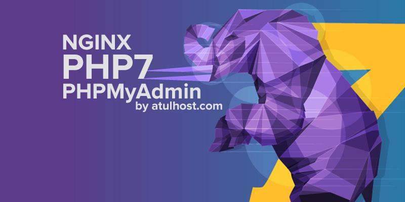 Install WordPress on NGINX PHP7 with PHPMyAdmin Ubuntu16.04
