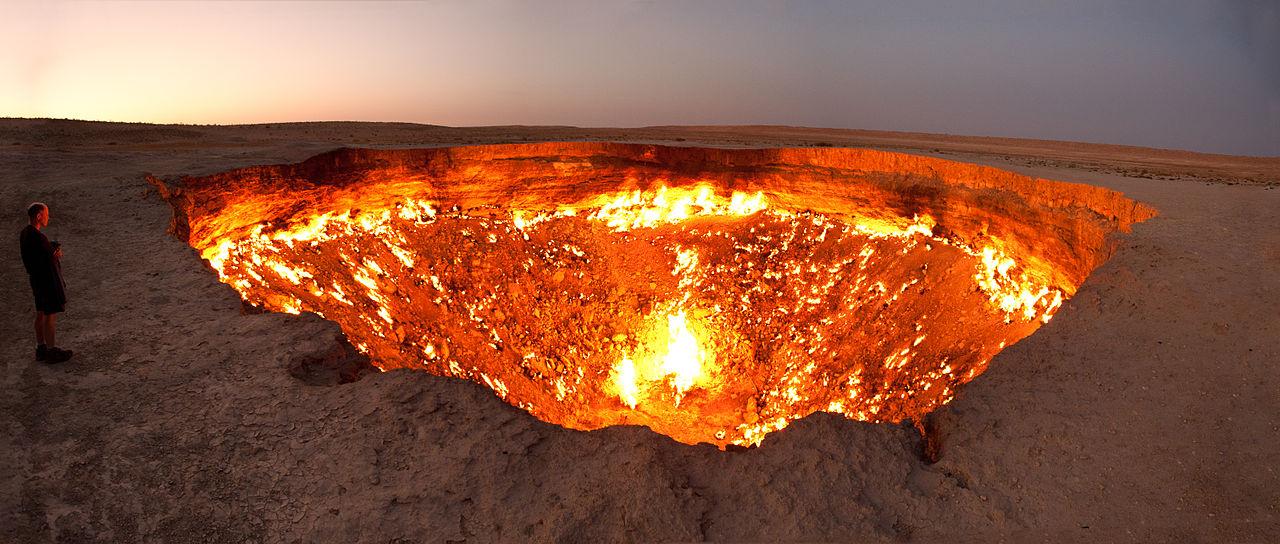 Door to Hell, Derweze, Turkmenistan