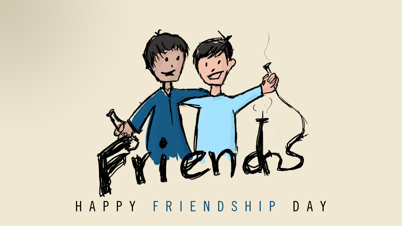 Friendship Day Facebook Cover Photo Conceptual Wallpaper