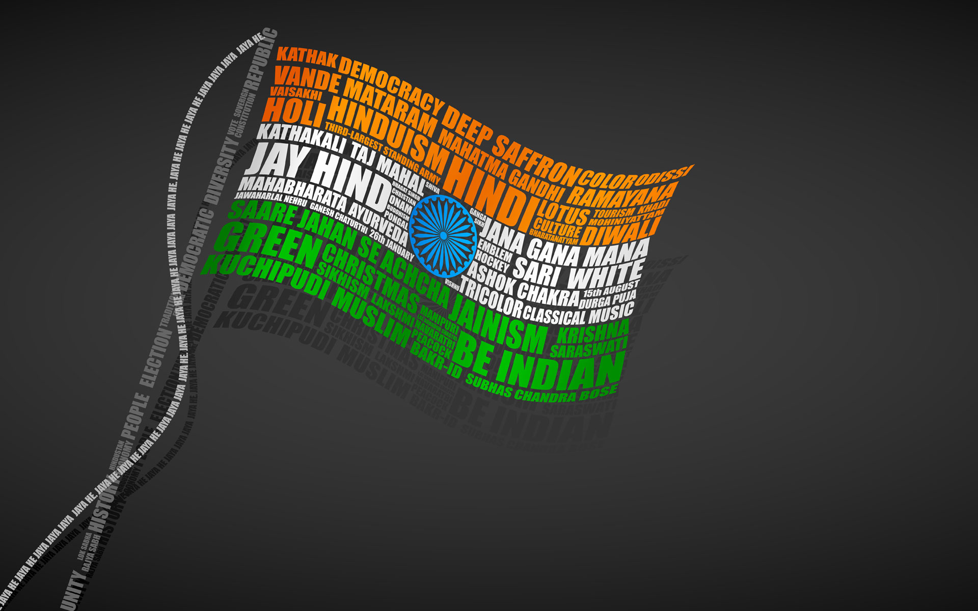 Indian Flag Wallpaper For PC | Wallpaper4PC