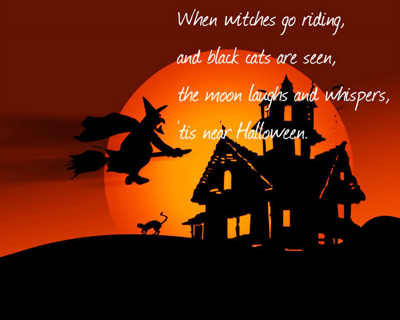 Halloween Quotes and Sayings & Wishes and Messages