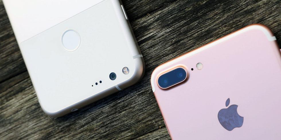 Google Pixel vs iPhone 7 Plus