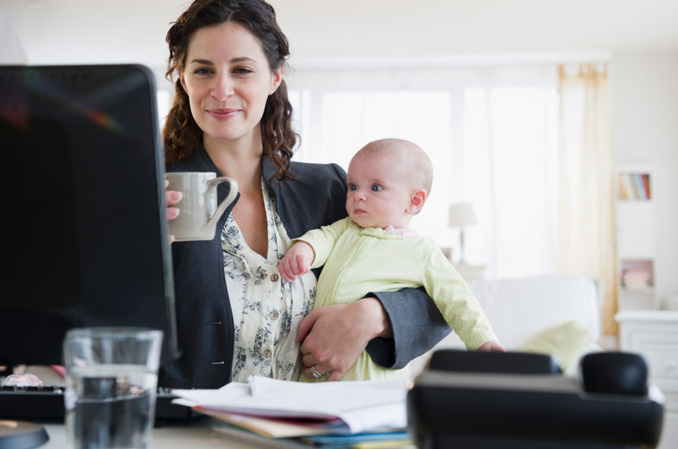 how to be a work from home mom