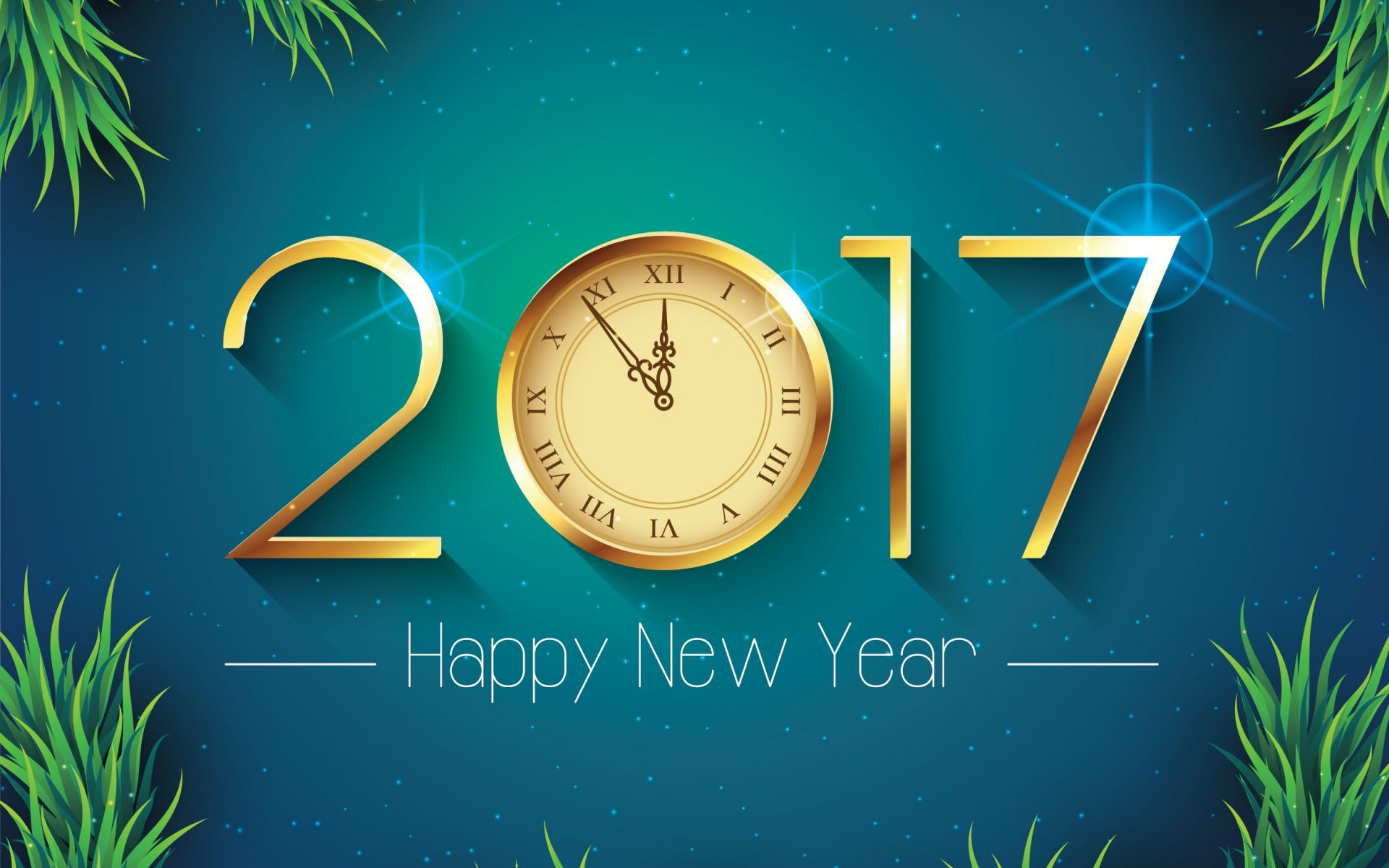 2017 happy new year wallpaper