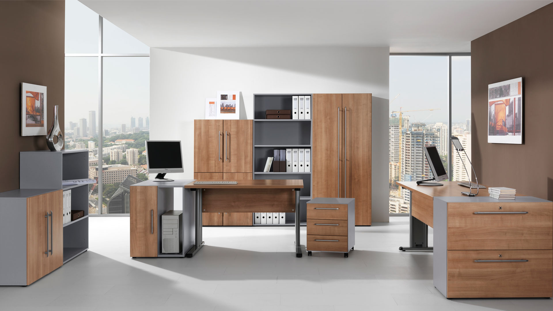 Besides That, An Office Desk Is The Central Equipment For Organizing Your  Belongings. A Well Organized Office Space Is Paramount For Work Efficiency.