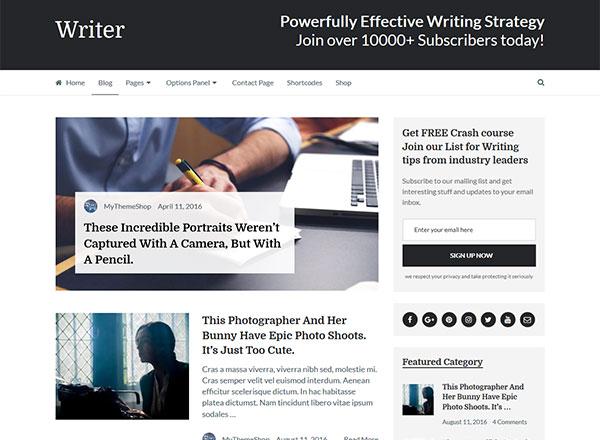 Writer Theme