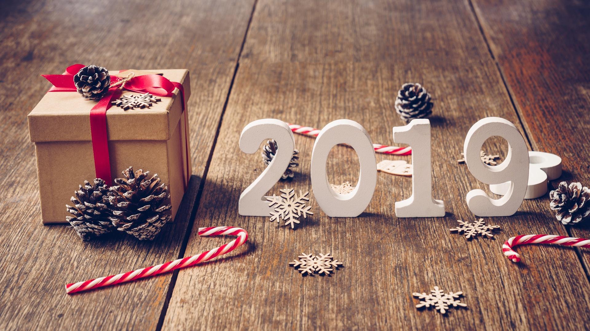 2019 Happy New Year Wallpaper HD