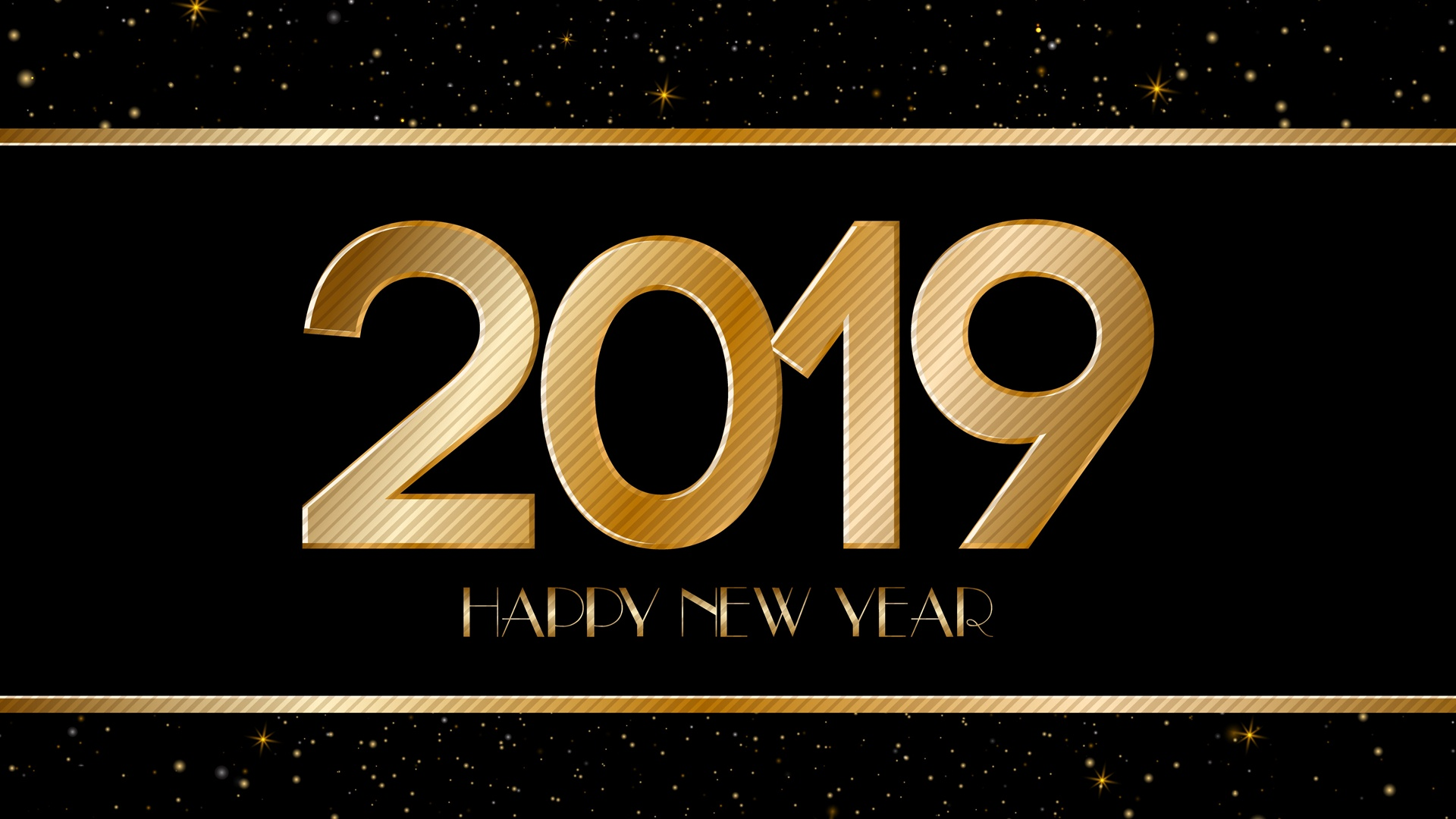 2019 New Year HD Wallpapers