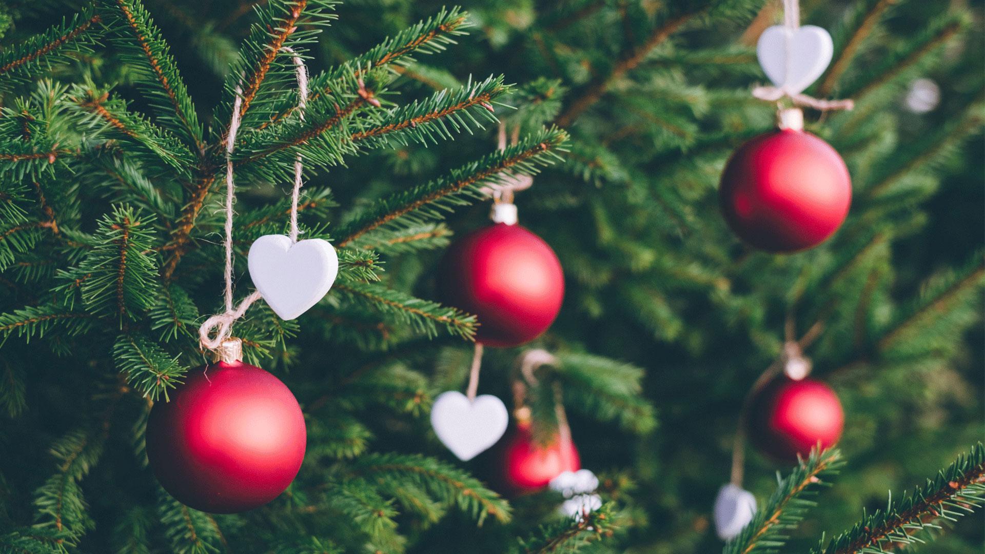 Christmas Wallpaper Tree Decoration