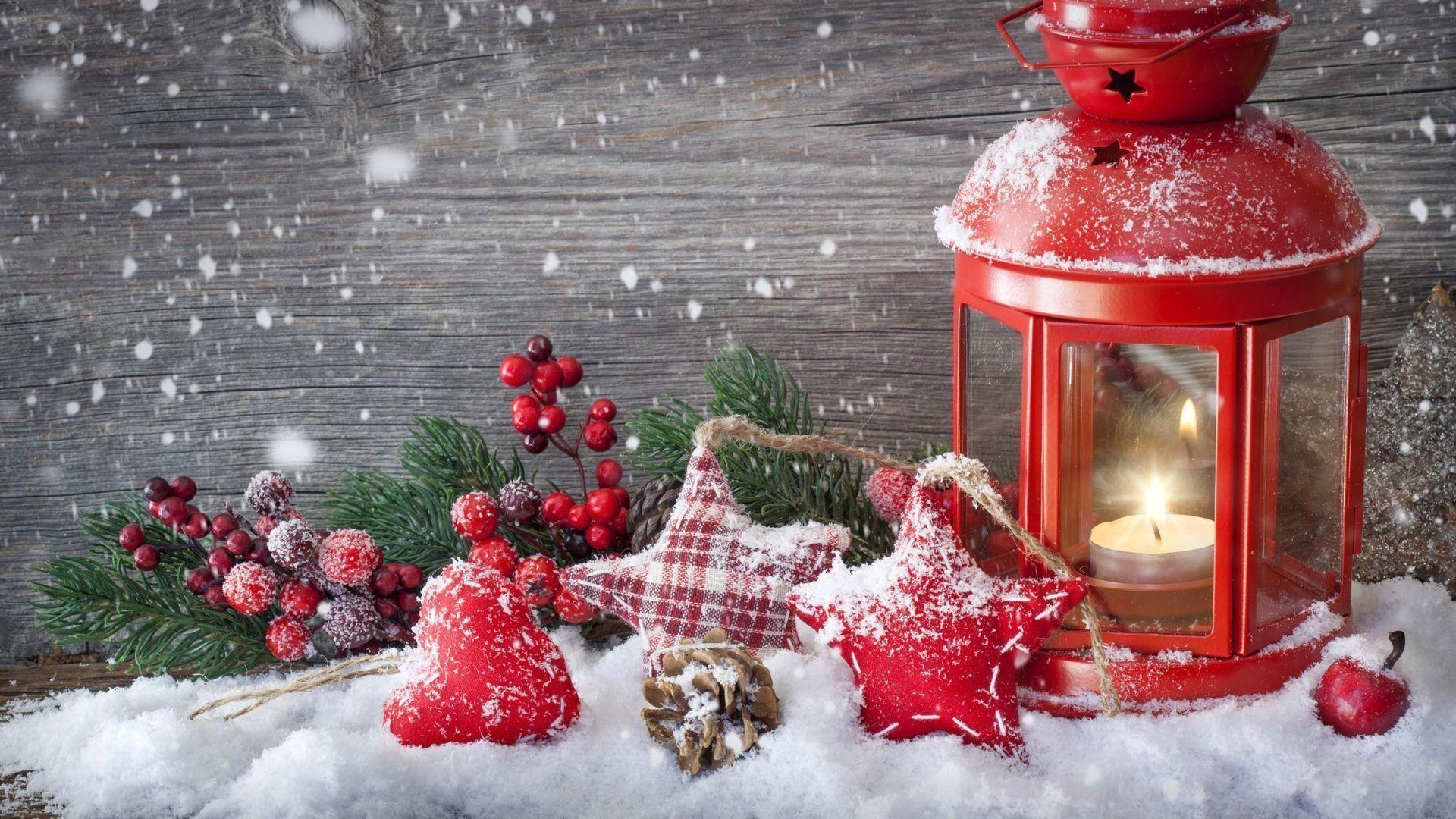 Snow Christmas Wallpaper