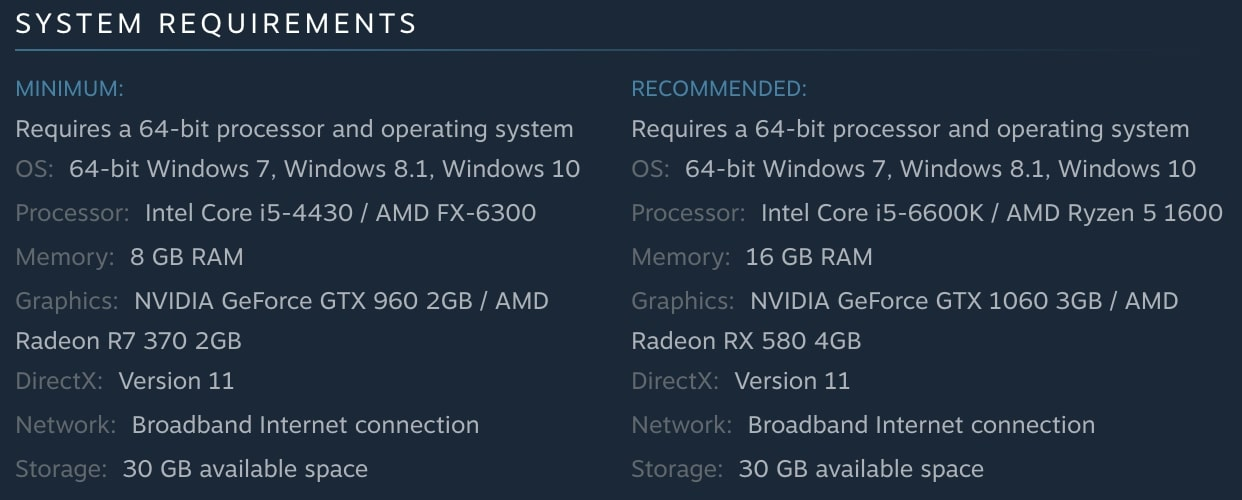 PLAYERUNKNOWN'S BATTLEGROUNDS (PUBG) System Requirements | Steam